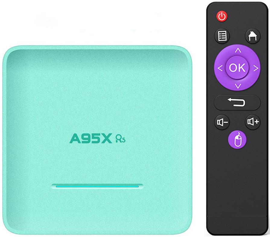 Приставка A95X R5 | 4/32 | Rockchip RK3318 | Android TV Box