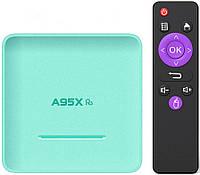 Приставка A95X R5 | 4/32 | Rockchip RK3318 | Android TV Box, фото 1