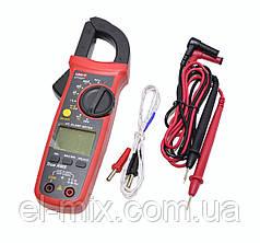 Мультиметр цифровой UNI-T (токовые клещи)  UT202+ AC (400А)  MIE0401