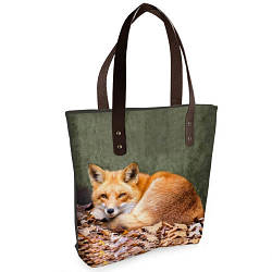 Стильная женская сумка Sophie Рыжая лиса
