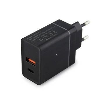 Зарядное устройство UKC Fast Charge QC3.0 USB/Type-C, 7614