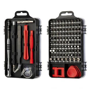 Набор инструментов для ремонта электроники Lefavor 110 в 1