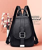 Женский кожаный стильный модный рюкзак бананка сумка сумочка клатч. Женские рюкзаки портфели бананки