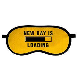 Маска для сна New day is loading