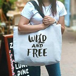 Пляжная сумка Beach Wild and free