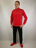 Мужской спортивный костюм красного цвета, фото 2