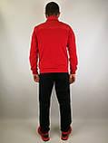 Мужской спортивный костюм красного цвета, фото 3