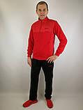 Мужской спортивный костюм красного цвета, фото 10