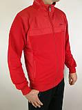Мужской спортивный костюм красного цвета, фото 5