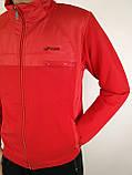 Мужской спортивный костюм красного цвета, фото 8