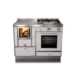 Отопительно варочная печь на дровах Rizzoli RVE 110 combi (плюс газ и электричество)