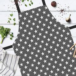Фартук полноцветный Сolorful Звезды | стильный кухонный фартук с оригинальным принтом для женщины