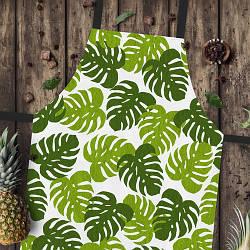 Фартук полноцветный Сolorful Листья папоротника | универсальный кухонный фартук с оригинальным принтом