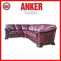 """Шикарный кожаный угловой диван """"Ferenze"""", Ферензе, фото 1"""