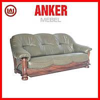 """Кожаный диван с очень удобной посадкой """"Hammer"""", Хаммер, фото 1"""
