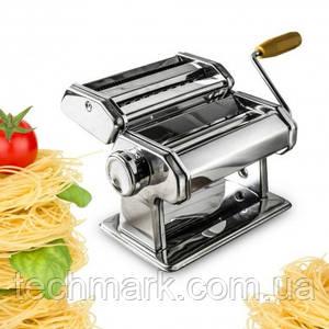 Лапшерезка ручная тестораскатка (паста машина) с насадкой для равиоли 3в1 Pasta Set QF-150
