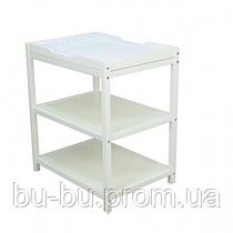 Пеленальный столик Верес (белый)