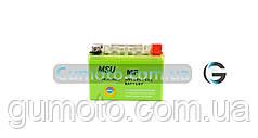 Аккумулятор гелевый 12В 4А MSU зеленый