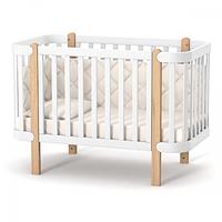 Кроватка Верес Монако (цвет: бело-буковый), фото 1