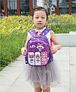 Детский рюкзак кукла LOL дошкольный для девочки в садик 3-5 лет, фото 5