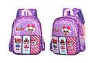 Детский рюкзак кукла LOL дошкольный для девочки в садик 3-5 лет, фото 7