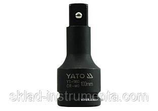 """Подовжувач ударний YATO 3/4"""" 100 мм"""