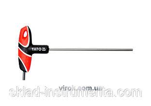 Ключ шестигранний Т-подібний YATO HEX 4 x 140 мм