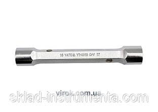 Ключ торцевий YATO 20 x 22 мм 170 мм