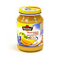 Пюре яблоко и банан с творогом Хаме (Hame), 190 г 1215344