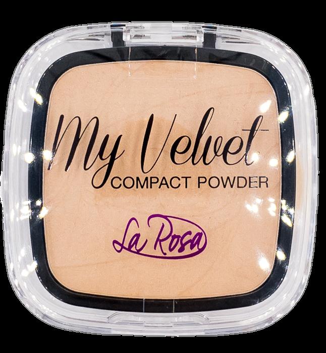 Пудра для лица LA ROSA My Velvet компактная LP-905 №03
