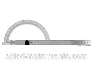 Кутомір-транспортир з лінійкою YATO 150 х 250 мм