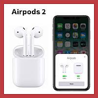 Беспроводные наушники Apple AirPods 2 поколения with Charging Case ( Бездротові навушники эпл аирподс )