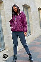 Двостороння куртка на блискавці в стилі колор блок з 48 по 66 розмір, фото 3