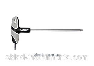 Ключ Torx Т-подібний YATO Т45 х 200 мм