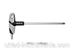 Ключ Torx Т-подібний YATO Т50 х 200 мм