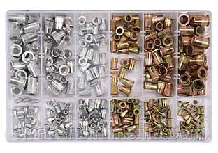 Нітогайки сталеві і алюмінієві YATO М3-М10 мм 300 шт