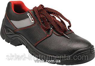 Туфлі робочі шкіряні з поліуретановою підошвою, модель PIURA, розмір 43