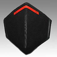 10 шт. Респиратор Славия ffp3 с зажимом без клапана, черный, 10 шт, фото 1