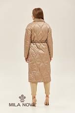 Пальто демісезонний плащ жіночий стильний двосторонній розміри:42-50, фото 3