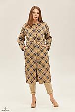 Пальто демісезонний плащ жіночий стильний двосторонній розміри:42-50, фото 2