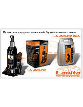 Домкрат гидравлический   2т бут.типа (картон упак) (LA JNS-02)  (LAVITA)