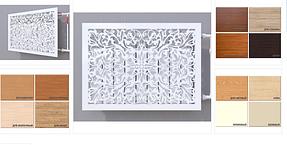 Экраны и декоративные решетки на радиаторы отопления из МДФ и ХДФ изделия из дерева