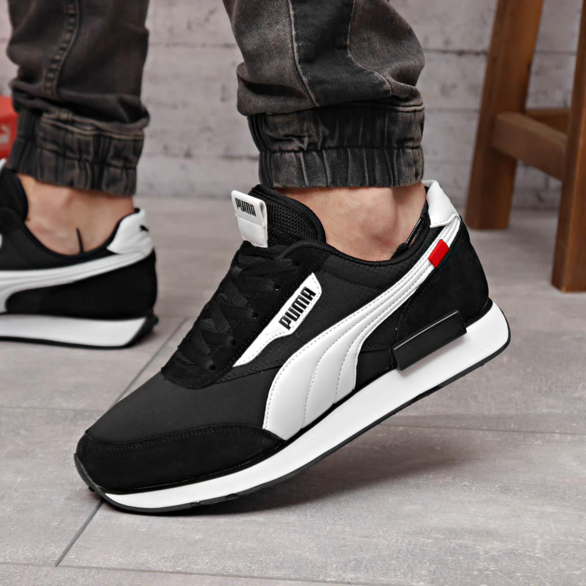 Кросівки чоловічі 18331, Puma Future Rider (якість TOP AAA), чорні, [ 41 42 43 44 45 46 ] р. 41-26,0 див. 44