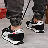 Кросівки чоловічі 18331, Puma Future Rider (якість TOP AAA), чорні, [ 41 42 43 44 45 46 ] р. 41-26,0 див. 44, фото 3