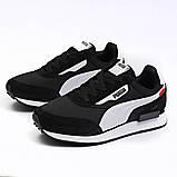 Кросівки чоловічі 18331, Puma Future Rider (якість TOP AAA), чорні, [ 41 42 43 44 45 46 ] р. 41-26,0 див. 44, фото 9