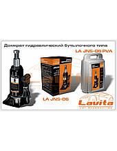 Домкрат гидравлический   6т бут.типа (пластик упак) (LA JNS-06PVC)  (LAVITA)