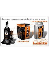 Домкрат гидравлический   4т бут.типа (пластик упак) (LA JNS-04PVC) (LAVITA)