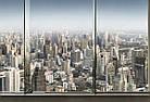 3D фотошпалери «Місто у вікні», фото 2