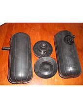 Вставки в пружины ПНЕВМО (2 подушки надувные+2 отбойника) (85x200мм) (Б. Церковь)