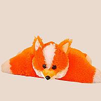 Мягкая плюшевая игрушка подушка игрушка лиса